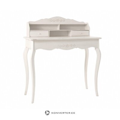 White sheepskin rug (franz reinkemeier) (in box, whole)