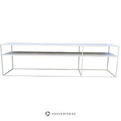 Valkoinen lampaannahkapussituoli Tonja (luomulammas) (laatikossa, koko)