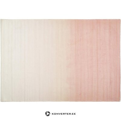 Pink-beige viscose carpet (alana) (box, whole)