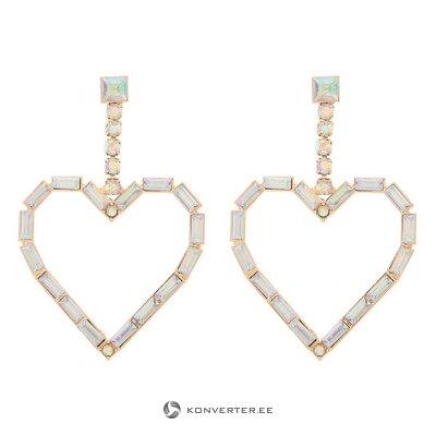 Heart-shaped earrings (amrita singh) (whole, hall sample)