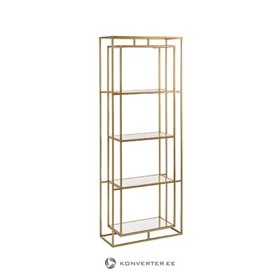 White-brown floor lamp (ella) (whole)