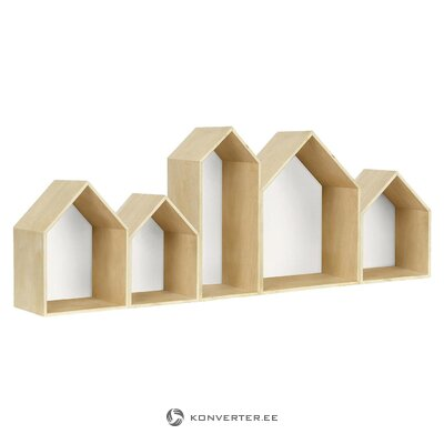 Wall shelf casitas (really nice things) (whole, in a box)