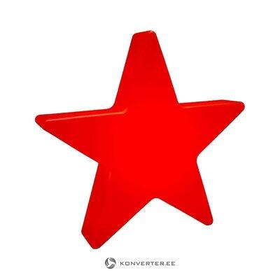 Dekoratīva gaismekļa mirdzoša zvaigzne (8 sezonas) (vesela, kastē)