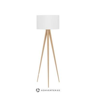 Торшер серебряный городской (vandeheg lighting) (цельный)