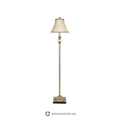 Настольная лампа стеклянная в названии (сурдик) (в коробке, целиком)