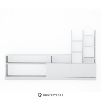 White cotton rug (agneta) (in box, whole)