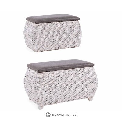 Brown and white garden chair providencia (prl) (in box, whole)