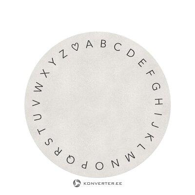 Подвесной светильник бежево-черный (одиночный) (в коробке, целиком)