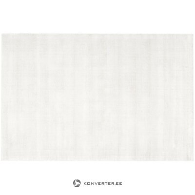 Hand-woven viscose carpet (jane) (with imperfections, hall sample)