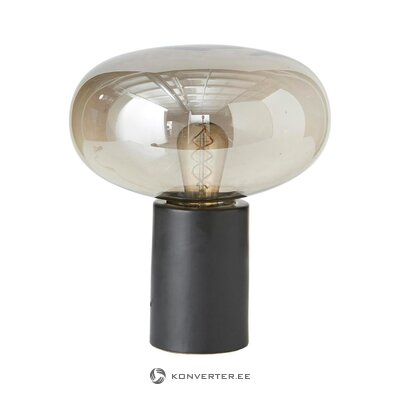 Black-gray table lamp alice (nowodvorski) (in box, whole)