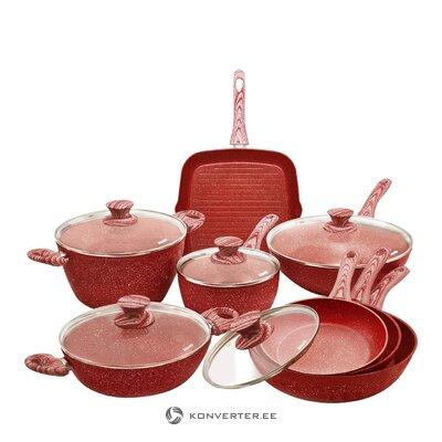 Sofa table set golden (ixia) (whole, hall sample)