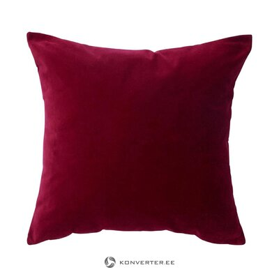 Red velvet pillowcase scarlett (jotex) (whole, in a box)