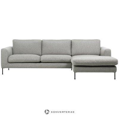 Gray corner sofa (cucita)