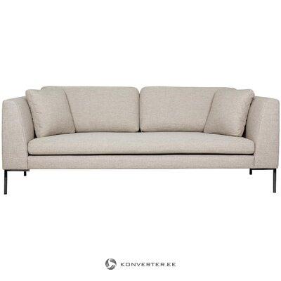 Beige sohva (emma) (laatikossa, koko)