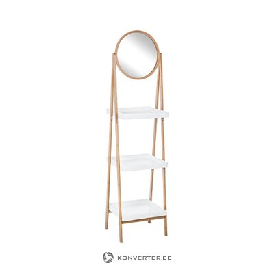 Ladder shelf with mirror audrey (bizzotto) (in box, whole)