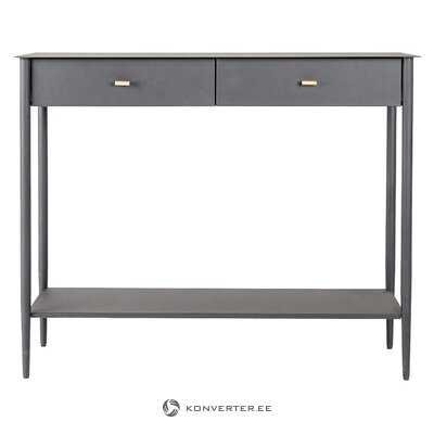 Gray metal console franklin (feeldesign) (whole, in box)
