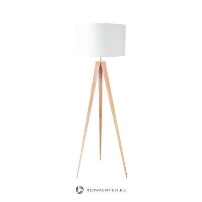 Baltbrūns stāvlampas koks (Beselink licht) (kastē, vesels)