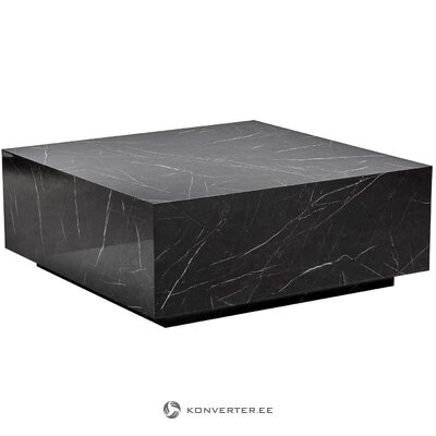 Marble imitation coffee table (lesley) (hall sample, with flaw,)