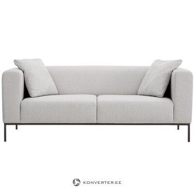 Šviesiai pilka sofa (carrie) (sveika, mėginys)