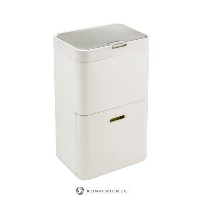 Baltais trash totem (joseph and joseph) (kastē, vesels)