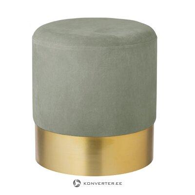 Gray velvet tumba (harlow) (in box, whole)