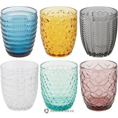 Drinking glass set 6 pcs geometrie (wool d´este)