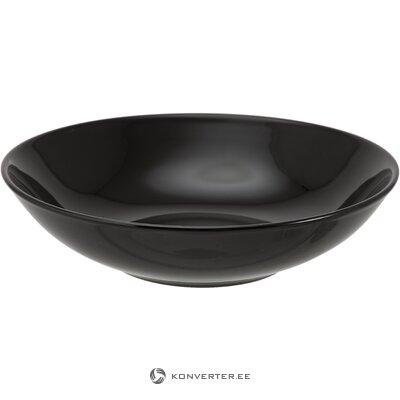 Juodas įrėmintas veidrodis (liz) (dėžutėje, visas)