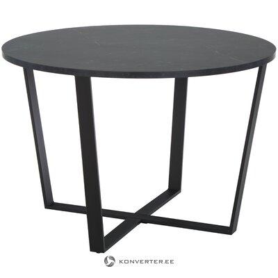 Marmora imitācijas apaļais pusdienu galds (actona)