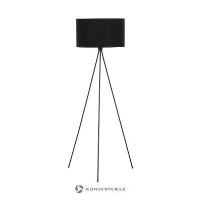 Black floor lamp (cell) (in box, intact)