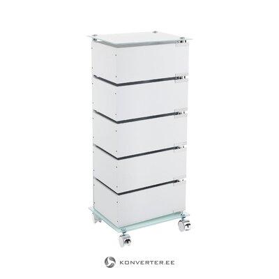Дизайнерский комод на колесиках (бобо) (целиком, в ящике)
