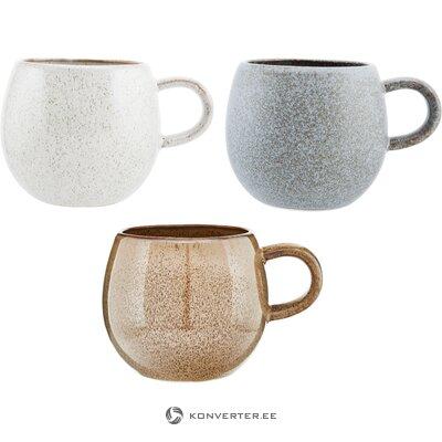 Teacup set 3 pcs addison (bloomingville)
