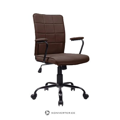 Brown office chair sam (bdexx) (whole, in box)