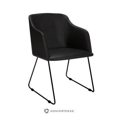Musta tuoli casablanca (interstil tanska) (koko, laatikossa)