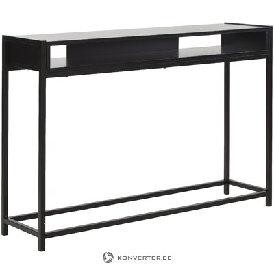 Black console table (leitmotiv) (with beauty error ,, hall sample)