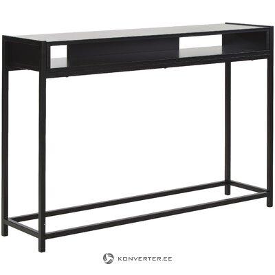Melns konsoles galds (vadmotīvs) (ar skaistuma kļūdu  zāles paraugs)