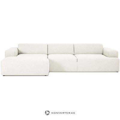 Didelė kampinė sofa (melva) (visa, dėžutėje)