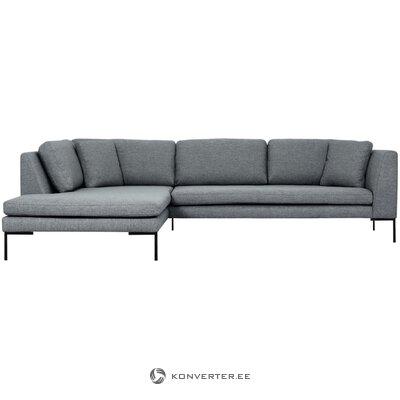 Gray corner sofa (emma) (whole, in a box)