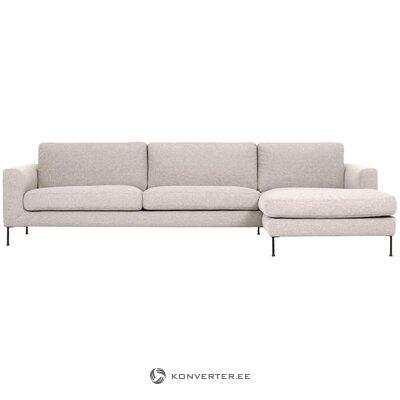 Smėlio spalvos kampinė sofa (cucita) (sveika, dėžutėje)