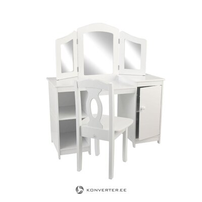 Children's dressing table (kidkraft) (defective, hall sample)