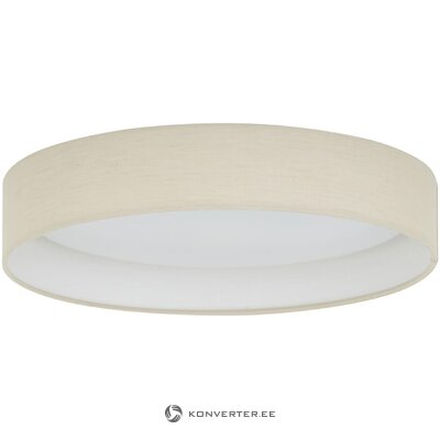 Led beige ceiling lamp (helen) (whole, in box)