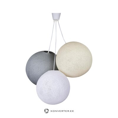 Pendant light flower light (cotton ball) (whole, in box)