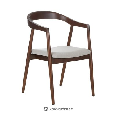 Solid wood chair (lloyd) (with beauty defects., Hall sample)