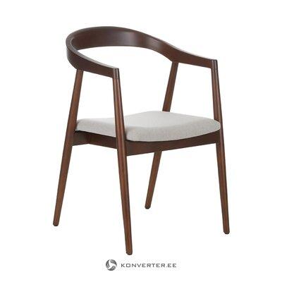 Masīvkoka krēsls (Lloyd) (ar skaistuma defektiem, zāles paraugs)