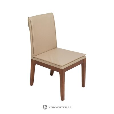 Beige-brown chair (santiago pons) (with beauty defect, hall sample)