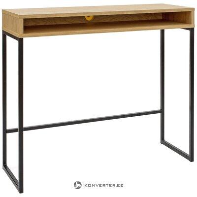 Brūni melns konsoles galds (Woodman) (zāles paraugs neliela skaistuma kļūda)