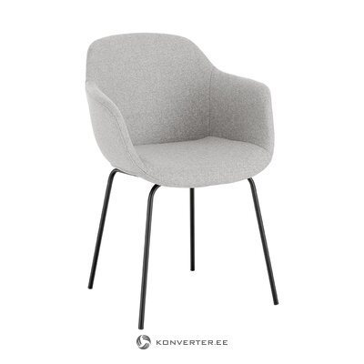 Light gray-black chair (fiji)
