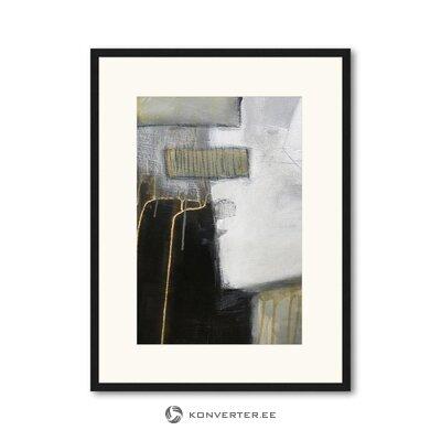 Seinapilt Abstract Art (Any Image) (Terve, Karbis)