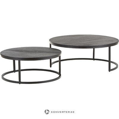 Black coffee table set (andrew)