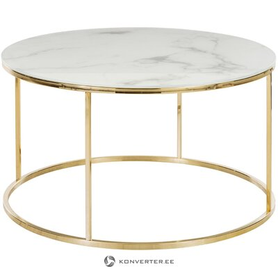 Marble imitation coffee table (antigua)