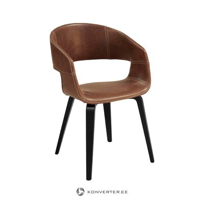Brown black chair nova (actona)
